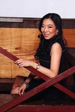 Gallery owner Lim Wei-Ling