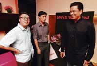 (From left) Ivan Lam, Kim Ng and Yohan Rajan.