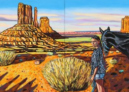 The Untold, 2018, 152 x 304 cm Oil on Canvas