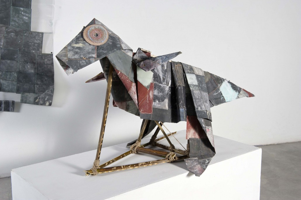 Cheng-Yen-Pheng-Dino-2015-2018-Stitching-on-sandpaper-80cm-x-110cm-x-40cm-1030x685