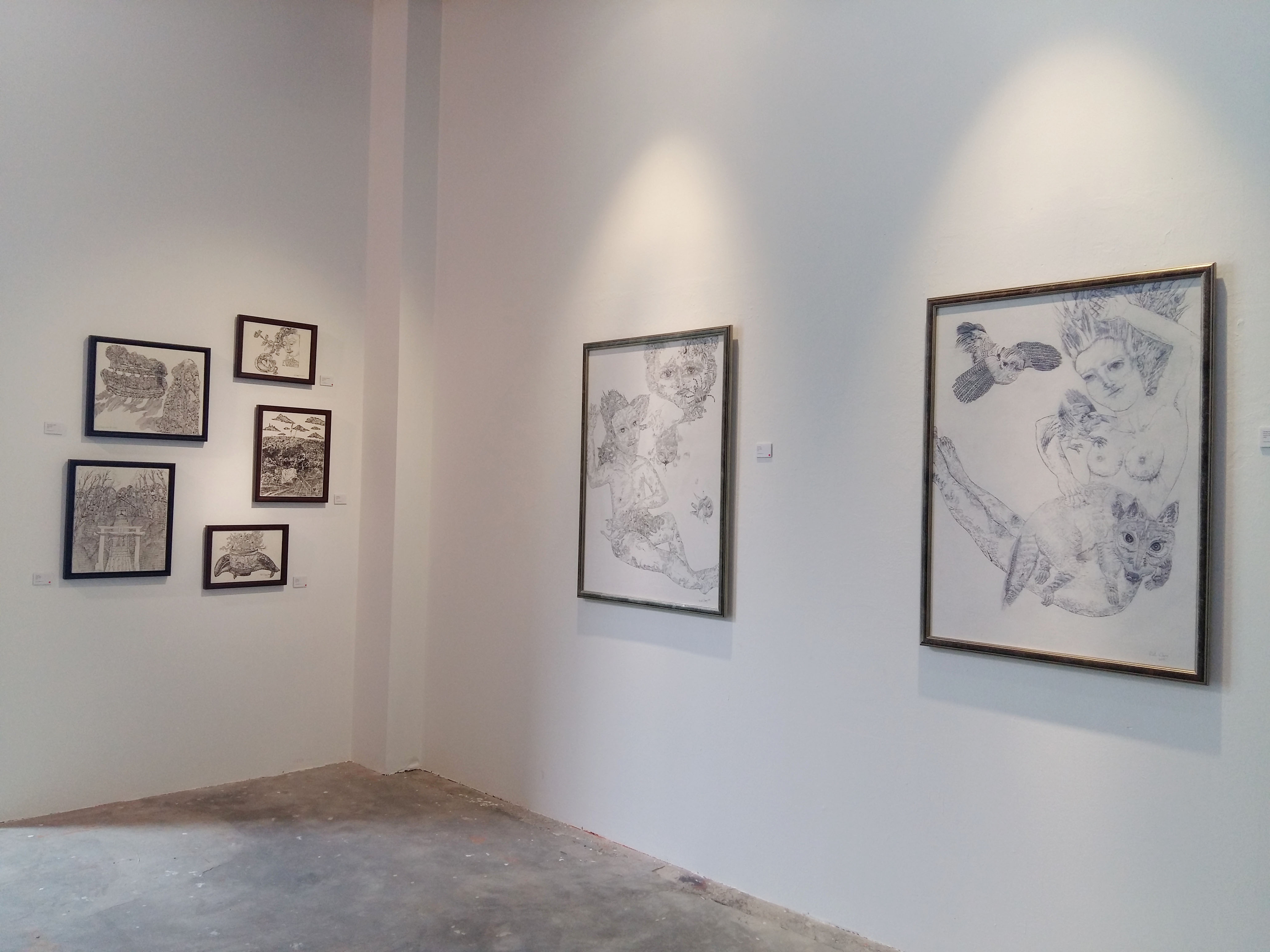 'Dust and the Silence in the Sun'(2019) installation view at Wei-Ling Contemporary