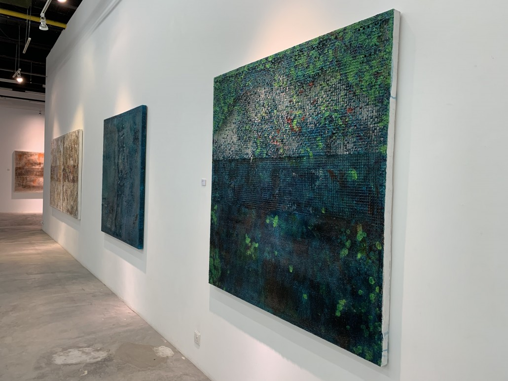 'Saring' (2019) installation view at Wei-Ling Contemporary