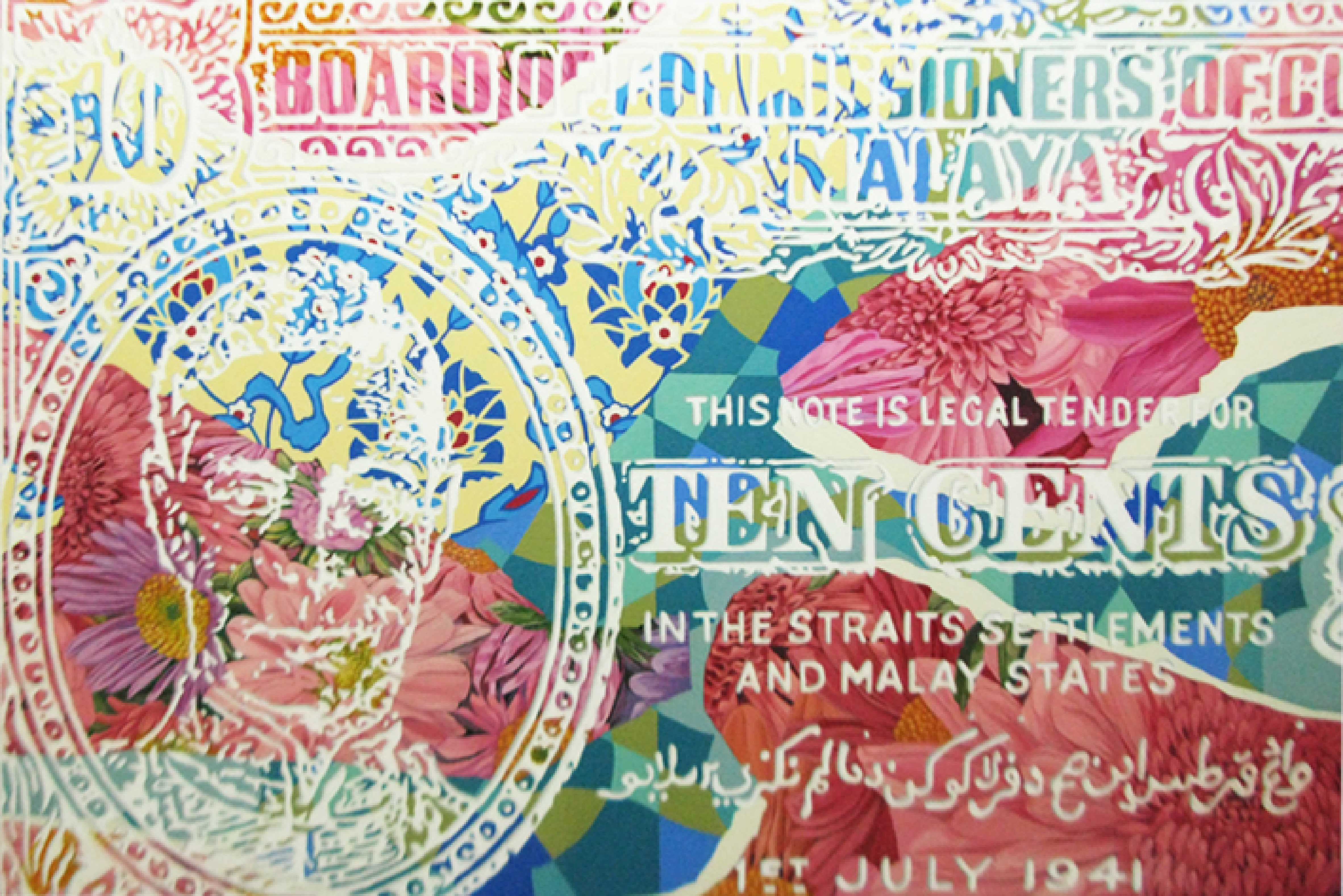Wong Chee Meng,Up-close with King George VI,Acrylic on canvas,100 cm x 150 cm,2013 low res