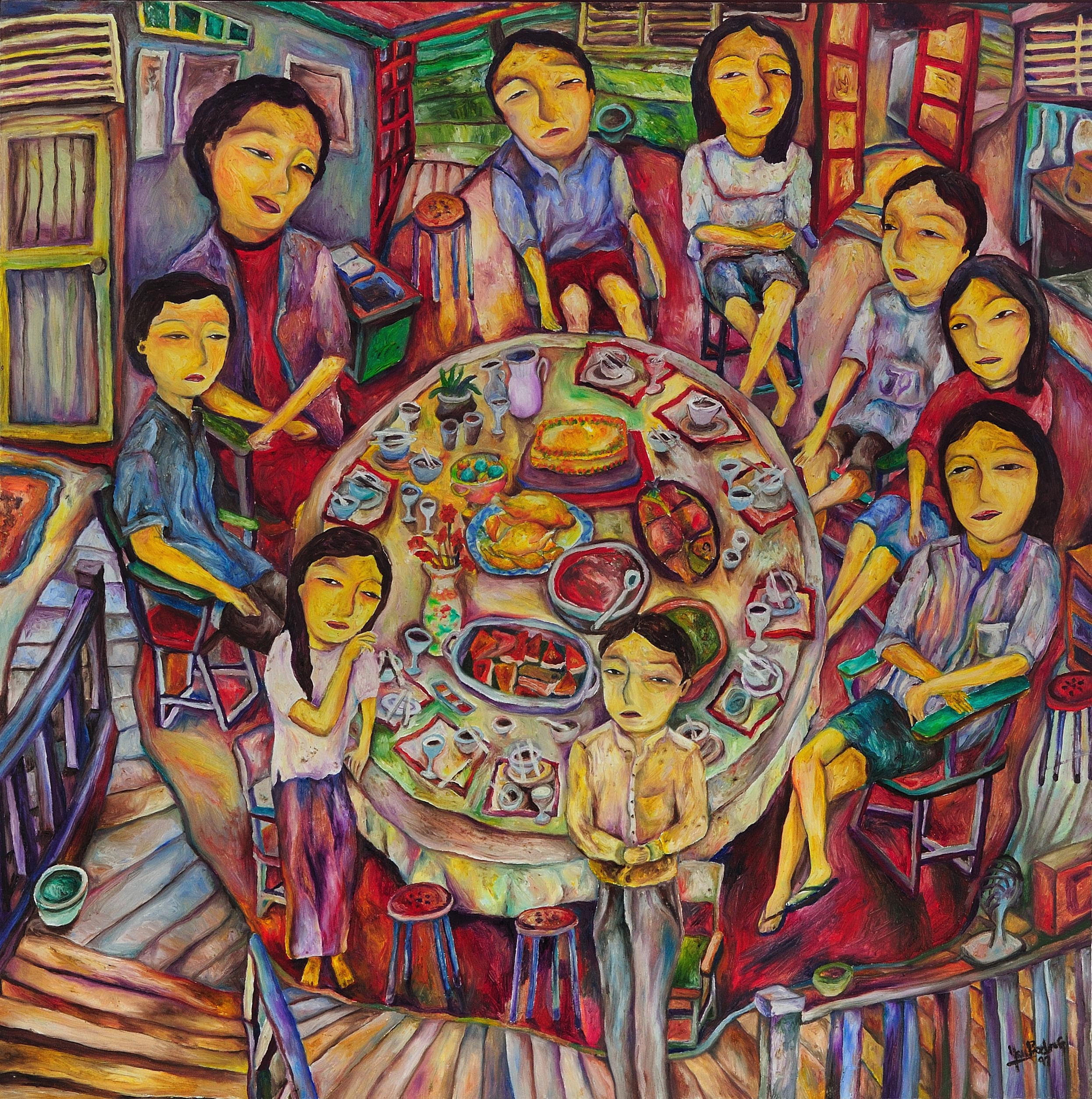 Yau Bee Ling,Home Dinner(family series)