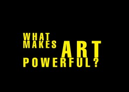 What Makes Art Powerful (cover)